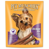 Pet Munchies Chicken Stix for Dogs 50g big image