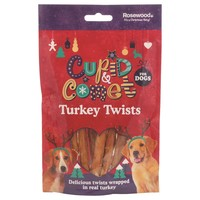 Rosewood Cupid & Comet Turkey Twists for Dogs 85g big image