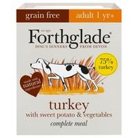Forthglade Grain Free Complete Adult Wet Dog Food (Turkey) big image