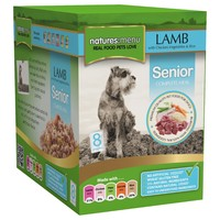 Natures Menu Senior Dog Food 8 x 300g Pouches (Lamb with Vegetables) big image