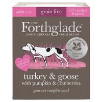 Forthglade Grain Free Gourmet Wet Dog Food (Turkey & Goose) big image