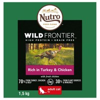 Nutro Wild Frontier Adult Cat Dry Food (Rich in Turkey & Chicken) big image