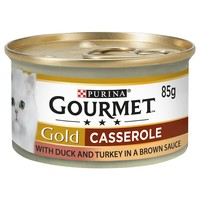 Purina Gourmet Gold Casserole Wet Cat Food (Duck & Turkey) big image