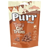 Purr Tasty Cat Treats with Chicken 60g big image