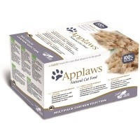 Applaws Adult Cat Food in Broth 8 x 60g Pots (Chicken Selection) big image
