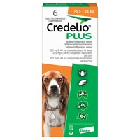 Credelio Plus 225mg / 8.44mg Chewable Tablets for Dogs (6 Pack) big image