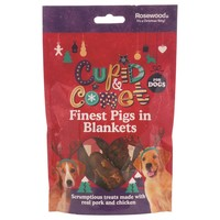 Rosewood Cupid & Comet Finest Pigs in Blanket for Dogs 100g big image