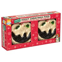Good Boy Pawsley Christmas Doggy Christmas Puds (Pack of 2) big image