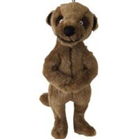 Super Squeaky Meerkat Cuddly Dog Toy big image