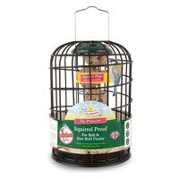 Walter Harrison's Squirrel Proof Protector Fat Ball & Suet Roll Feeder big image