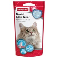 Beaphar Dental Easy Treats for Cats 35g big image