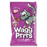 Wagg Prrrs Tasty Cat Treats with Liver 60g big image