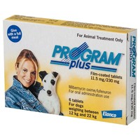Program Plus 230mg Tablets for Medium Dogs (Yellow) big image