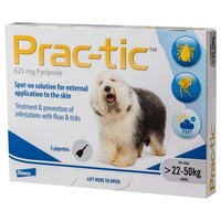 Prac-Tic Spot-On for Large Dogs (3 Pack) big image