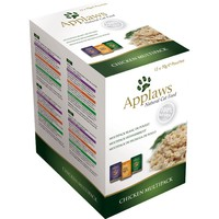 Applaws Adult Cat Food in Broth 12 x 70g Pouches (Chicken Selection) big image