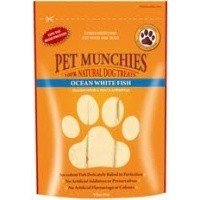 Pet Munchies Ocean White Fish Treats for Dogs 100g big image