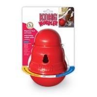 Kong Wobbler Dog Food and Treat Dispenser big image