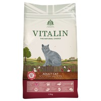 Vitalin Adult Dry Cat Food (Scottish Salmon) 1.5kg big image