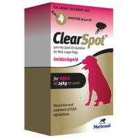 ClearSpot Spot-On Solution for Very Large Dogs 4 Pipettes big image
