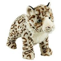 Sophia Snow Leopard Squeaky Dog Toy big image