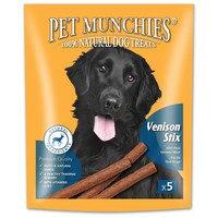 Pet Munchies Venison Stix for Dogs 50g big image