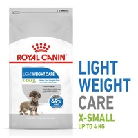 Royal Canin X-Small Light Weight Care Dry Dog Food 1.5kg big image
