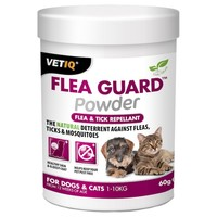 VetIQ Flea Guard Powder for Cats and Dogs 60g big image