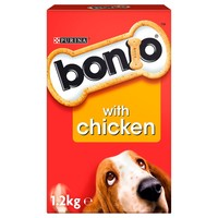 Nestle Purina Bonio with Chicken Dog Biscuits big image