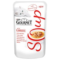 Gourmet Classic Soup with Tuna and Anchovy Pouches (32 x 40g) big image