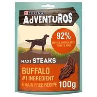 Purina Adventuros Maxi Steaks with Wild Buffalo 100g big image