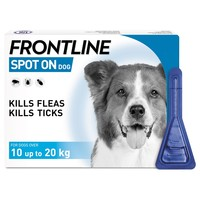 FRONTLINE Spot On Flea and Tick Treatment for Medium Dogs big image