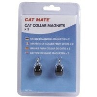 Cat Mate Cat Collar Magnets 2 Pack big image