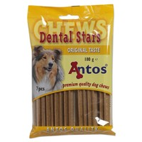 Antos Dental Stars Dog Chews 180g big image