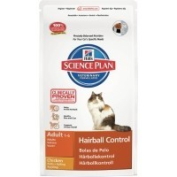 Hills Science Plan Hairball Control Adult Cat Food (Chicken) big image