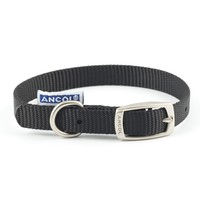 Ancol Heritage Nylon Dog Collar (Black) big image