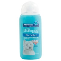 Ancol Blue Velvet Dog Shampoo 200ml big image