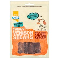 Good Boy Pawsley & Co Chewy Venison Steaks 80g big image