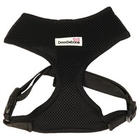 Doodlebone Airmesh Dog Harness (Black) big image