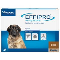 Effipro for Extra Large Dogs (4 Pipettes) big image