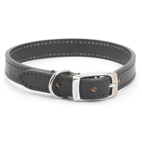 Ancol Heritage Leather Dog Collar (Black) big image
