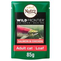 Nutro Wild Frontier Adult Cat Wet Food Pouches (Salmon & Chicken) big image