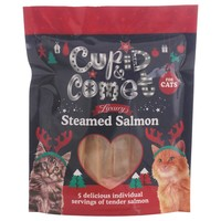 Rosewood Cupid & Comet Luxury Steamed Salmon Tenders for Cats 100g big image