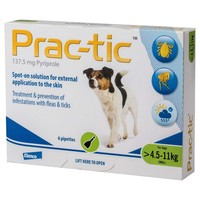 Prac-Tic Spot-On for Small Dogs (6 Pack) big image