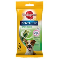 Pedigree Dentastix Fresh Small Dog Treats big image