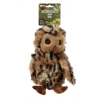 Ollie Owl Squeaky Soft Dog Toy big image