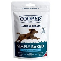 Cooper & Co Grain Free Peanut Butter Biscuits 100g big image