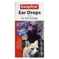 Beaphar Ear Drops for Cats and Dogs big image
