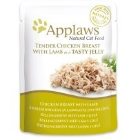 Applaws Adult Cat Food in Jelly 16 x 70g Pouches (Chicken with Lamb) big image
