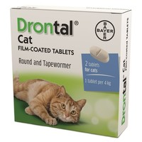 Drontal Cat Worming Tablet Packs big image