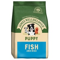 James Wellbeloved Puppy Dry Dog Food (Fish and Rice) 2kg big image